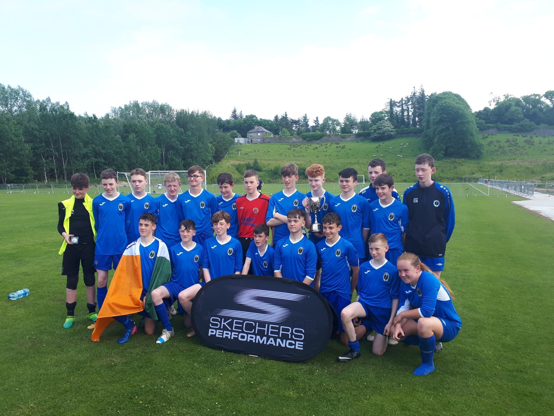 Ballyhaunis Community School record big win over Tuam
