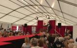 Watch: Marty brings the party to Celia Holmen Lee's fashion show at #Ploughing17