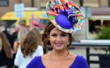 Glamorous Jennifer Wrynne  at Punchestown Races