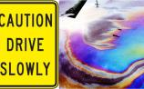 WARNING: oil spill on Sligo to Manorhamilton road (N16) this morning