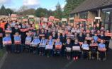 Fenagh school children show real festive spirit by getting behind the Shoebox Christmas Appeal