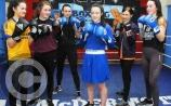 Leitrim's Dearbhla goes in fight four on Tuesday afternoon