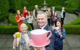 Will you be organising a tea party in aid of The Alzheimer Society of Ireland