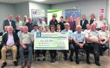 Heritage and Vintage present cheques to North West STOP and the Irish Pilgrimage Trust