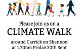 Join in the Climate Walk this Friday, September 20 in Carrick-on-Shannon