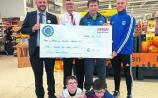 Tesco Community Fund presentation to Carrick Town FC