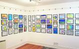 Leitrim schools colour the walls of Solas Art Gallery