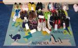 Leitrim national school sends 250 shoes to Capetown