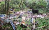 Long term dumping close to Lough Rynn Castle
