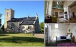 Getting away for a few nights? Check out this fabulously restored 200-year-old church on Airbnb
