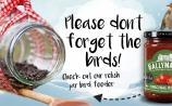 Make your own DIY glass bird feeder this festive season