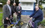 Bikes repaired by inmates at Loughan House arrive in Africa