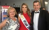 Órla represents Leitrim at Miss Ireland finals