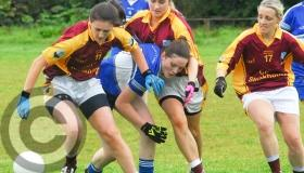 All the action from the Leitrim Ladies Junior Championship Final - GALLERY