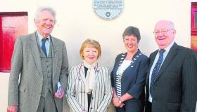 Plaque unveiled in memory of Gardiner sisters from Carrick-on-Shannon who funded Cambridge scholarship