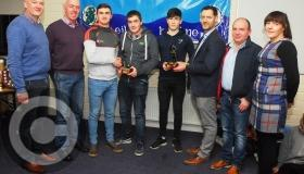 Allen Gaels GAA Club present Kevin Keane Player of the Year Awards - GALLERY
