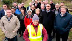 Politcal representatives hold successful cross-border meeting in Dromahair to discuss Greenway proposal linking Sligo, Leitrim, Cavan and Fermanagh