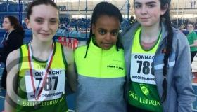 Great performances from North Leitrim AC in Athlone