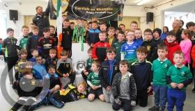 Six Nations & Triple Crown trophies visit Carrick RFC Camp in Carrick - GALLERY