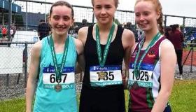 Niamh wins silver in All-Ireland Schools Junior Walk - GALLERY