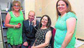 Gallery | Minister Jim Daly visit Drumshanbo to attend 10th anniversary of Leitrim Calling befriending service