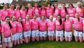 Leitrim U14 Ladies team thank sponsors