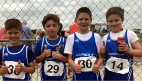 Young stars out in force for Claremorris Championships