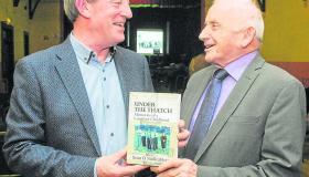 "Gallery | Seán Ó Súilleabháin launches his book ""​Under the Thatch: Memories of a Longford Childhood​"""