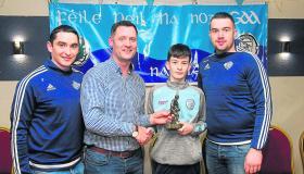Gallery | Kevin Keane underage awards presented in to Allen Gaels footballers in Drumshanbo