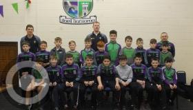 Leitrim stars Flynn & Moreton present medals to home club underage stars - GALLERY