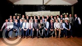 Pat Spillane presents medals on Glenfarne/Kiltyclogher's night of celebration