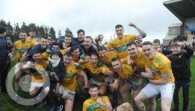 Leitrim players and fans celebrate promotion in style - GALLERY