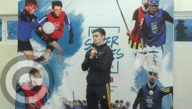 Lights, camera, action as O'Rourke launches Leitrim GAA Sky Super Games centre