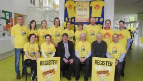 Launch of Darkness into Light in Ballinamore