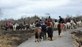 GALLERY: Large crowd attend opening of Leitrim's newest equestrian trail in Cloone