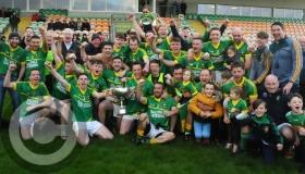 Drumreilly strike late to beat Ballinaglera and win Dunnes Bar Division 2 title - GALLERY
