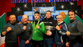 Gallery | Large crowds descend on Manorhamilton's Sean McDermott Boxing Club to welcome home Elite Champion Dean Clancy