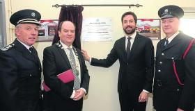Gallery | Minister Eoghan Murphy officially opens  Ballinamore and Drumshanbo fire stations