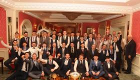 Kerry's Aidan O'Mahony helps Leitrim Gaels celebrate - GALLERY