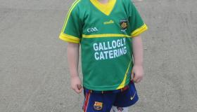 Fans battle the elements at Drumreilly v Melvin Gaels - GALLERY