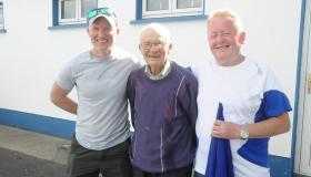 Fans enjoy the sunshine and spectacular football at St Mary's v Ballinamore SOH - GALLERY