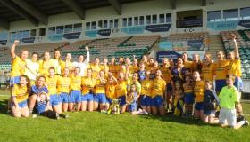 Third time lucky as Glencar/Manorhamilton too strong for Ballinamore Sean O'Heslins to claim first ever Gotham Dry Wall New York Ladies SFC crown - GALLERY