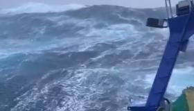 Fishing in Storm Aiden