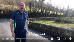 Leitrim GAA chairperson shares his memories of his native Eslin as he joins in local GAA healthy mind and body initiative
