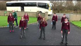 Must watch: Get in the Christmas mood with Charlie McGettigan and Drumshanbo pupils