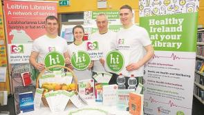Ireland's Fittest Family launch 'Healthy Ireland at Your Library' in Leitrim