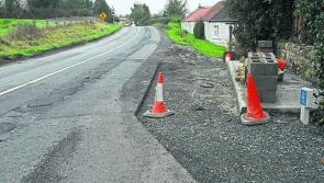 Serious pressure needs to be put on contractor to repair Mohill road
