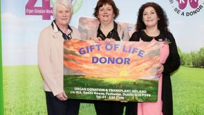 Leitrim people attend national launch of Organ Donor Awareness Week