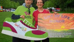 Naas resident takes  part in IKA fun run just six weeks after transplant