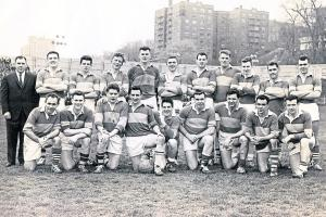 The New York 'Leitrim' team  that featured Pakie McGarty and Gerry O'Malley